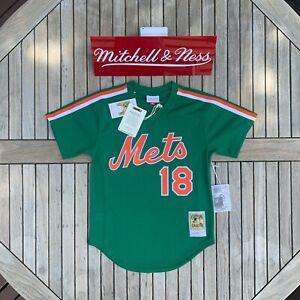 Mitchell & Ness Darryl Strawberry 1988 Authentic Mesh BP Jersey New York Mets