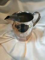 Vintage Water Tea Pitcher FB Rogers Paul Revere Reproduction Silverplate Silver