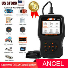 OBD2 Scanner Diagnostic Tool OBD Live Data Freeze Frame Code Reader Battery Test