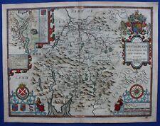 WESTMORLAND, WESTMORELAND, KENDAL, Original antique atlas map, J. Speed, 1623-32