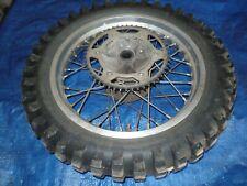 """Yamaha TT350 TT600 YZ250 18"""" Wheel Rim Hub 1985 1986 1987"""