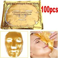 Gold Bio Collagen Facial Face Mask High Moisture Anti-Aging Remove Wrinkle Care