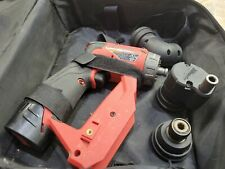 Milwaukee 2505 20 M12 Fuel Brushless 38 Install Drill Driver 3 Head 1 Batt