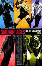 SMOKIN' ACES (2007) ORIGINAL MOVIE POSTER  -  ROLLED  -  DOUBLE-SIDED