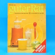 Guter Rat 1-1981 Verlag für die Frau DDR Steratrans 2310 Schaukel Schaukelbett A