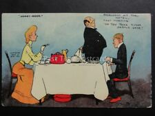 Tom Browne 2582: Honeymoon Breackfast Theme DO YOU TAKE SUGAR HAROLD DEAR..c1906