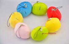New Clannad Dango Marshmallow Cuddle Phone Chain Ring Bag Charm Plush Stuffed