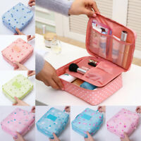 Travel Cosmetic Makeup Storage Bag Toiletry Case Hanging Pouch Wash Organizer