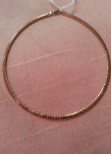 "Omega, Sterling silver necklace, 16""."