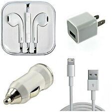 4 Piece Cell Phone Accessories Set: iPhone Accessory Bundle Set