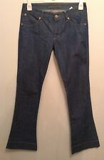 NEW 💗 SUPERFINE 💗 BOOTCUT JEANS W30 L 34 STRETCHY BLUE DESIGNER HARVEY NICS