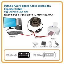 High Speed Active 30Ft USB 2.0 Extension Cable Male To Female Extender 10M Boost
