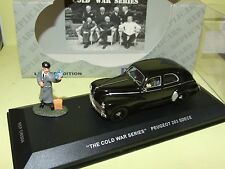 PEUGEOT 203 SDECE THE COLD WAR SERIES IXO REPLICARS 1:43