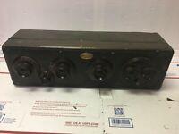 Antique Atwater Kent Model 20C Battery Radio Receiving Set 7570