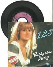 "Catherine Ferry, 1,2,3, G/G, 7"" single, 999-911"