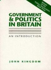 Government and Politics in Britain: An Introduction-John Kingd ..9780745605937