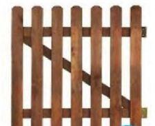 Wooden gate garden gate picket gate H100cm x L100cm