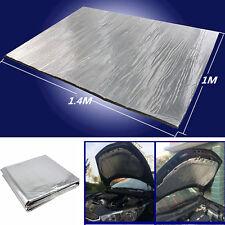 Car Front Hood Turbo Exhaust Muffler Heat Shield Cotton Mat Noise Firewall Pad