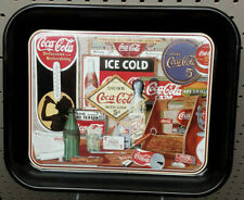 Coca Cola Through The Years Metal Serving Tray Vintage Limited Edition1990