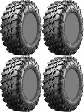 Four 4 Maxxis Carnivore ATV Tires Set 2 Front 29x9.5-15 & 2 Rear 29x9.5-15