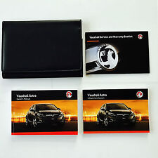 VAUXHALL ASTRA  Owners handbook Manual Pack New Genuine 2009 TO 2012