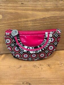 Vera Bradley~ Frill~Coin Change purse~ Imperial Toile ~ Pink & Brown