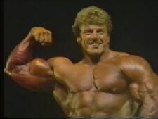 1986 NPC Nationals bodybuilding video muscle dvd Matt Mendenhall, Gary Strydom