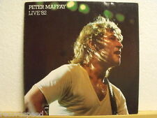 "★★ 12"" LP - PETER MAFFAY - Live ´82 - Inkl. Poster - OIS"