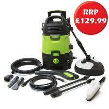 Pressure Washer 150 Bar 1700 Watt c/w Patio Cleaner & 10 Litre Wet Dry Vacuum