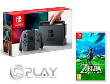 NINTENDO SWITCH Consola Gris 32Gb + ZELDA: Breath Of The Wild