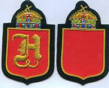 Royal Hungary Hungarian King Crown Blazer Robe Jacket Patch Sewing Sewn Vitez H