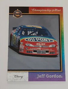 Jeff Gordon 1998 98 Pinnacle Mint Championship Special Insert Card 2 of 2 SP C1
