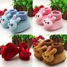 Newborn Infant Newborn Baby Cartoon Rabbit Shoes Soft Sole Prewalker Warm Shoes