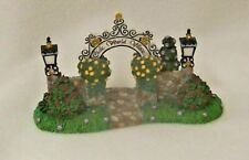 PartyLite Arbor Gateway for Olde World Village Rare Hostess Only Plus Xtras