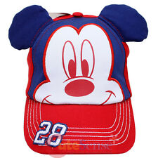 Disney Mickey Mouse Baseball Cap Hat with Mickey Face 3D Ear