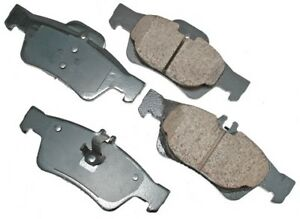 For Mercedes CL500 CL550 CL600 CLS500 E350 Rear Disc Brake Pads Akebono Euro