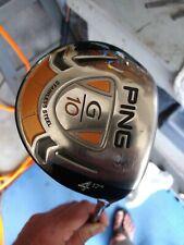 Used RH Ping G10 17° 4 Fairway Wood ProLaunch Red Graphite Stiff S Flex