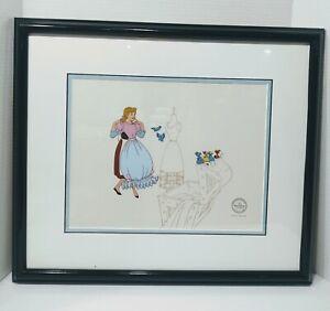 """Disney Sericel """"Cinderella"""" Limited Edition (2500) Serigraph Cel"""