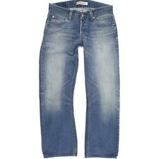 Levi's 512 Men Blue Bootcut Regular Jeans W33 L30 (54371)