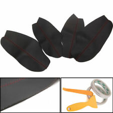 Car PU Leather Door Armrest Pad Surface Cover Shell Trim For 12-15 Mazda CX-5