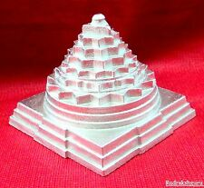 Shri Yantra / Meru Shree Yantra - Made in Pure Parad / Mercury - 2 inch - 421 gm