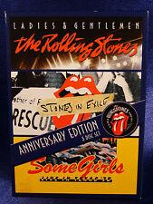 The Rolling Stones: Ladies & Gentlemen/Stones in Exile/Some Girls 3-Disc Set