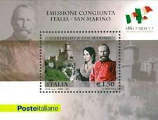 ITALIA 2011 150° ANNIVERSARIO DELL'UNITA' D'ITALIA FOGLIETTO BF 69