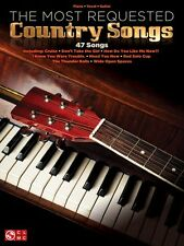 The Most Requested Country Songs Sheet Music Piano Vocal Guitar SongBo 000127660