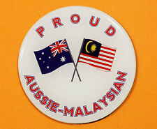 PROUD AUSSIE - MALAYSIAN FRIDGE MAGNET AUSTRALIAN SOUVENIR GIFT MALAYSIA