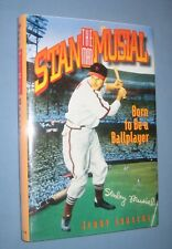 """*  STAN """"THE MAN""""  MUSIAL  *   biography signed by Musial"""