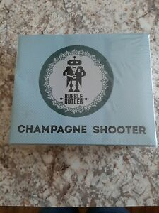Champagne Glasses Bubble Butler 2-Pack Of Plastic Chambongs Shooter Drinkware