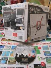 Nintendo Wii:Resident Evil Zero [TOP CAPCOM & 1ERE EDITION] SANS NOTICE - Fr