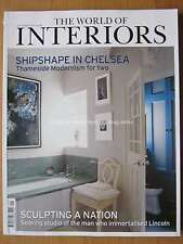 The World of Interiors September 2016 Thameside Modernism in Chelsea