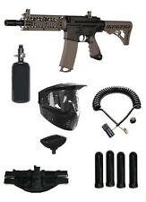 New Tippmann Tmc Tactical Magfed Paintball Gun Magazine Fed Kit Pack Hpa Remote